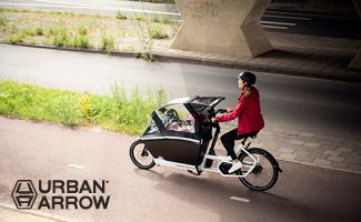Logo Lastenrad Urban Arrow Family