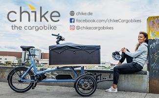 Lastenrad Chike Neigetechnik