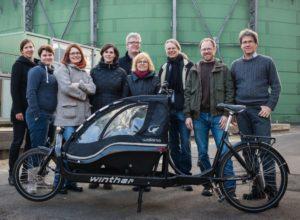 Cargobike-Sharing-Projekt TINK: Beiratstreffen