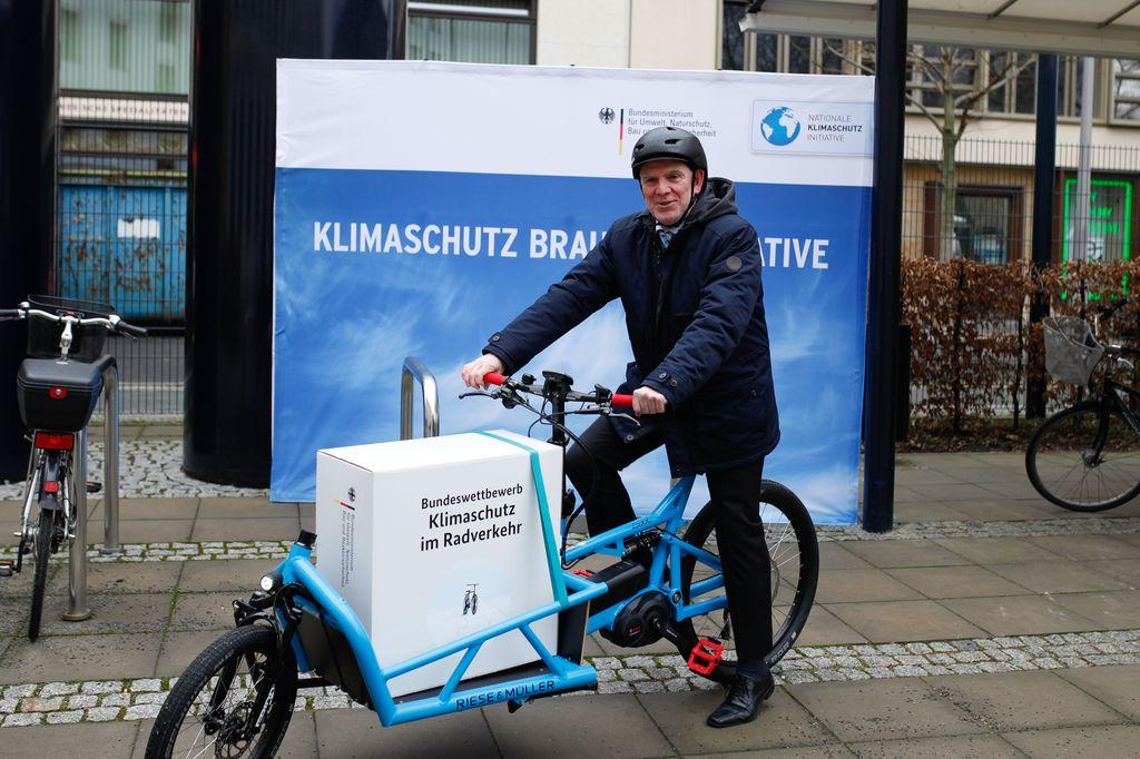 Wettbewerb für Ausbau des Radverkehrs gestartet