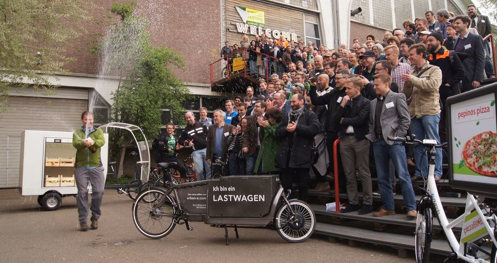 International Cargobike Community, Gruppenfoto Nijmegen 2014