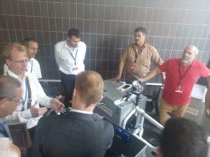 Amazon-Sprecher Stephan Eichenseher erklärt den Cargobike-Einsatz