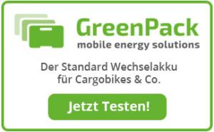 GreenPack-Banner auf cargobike.jetzt