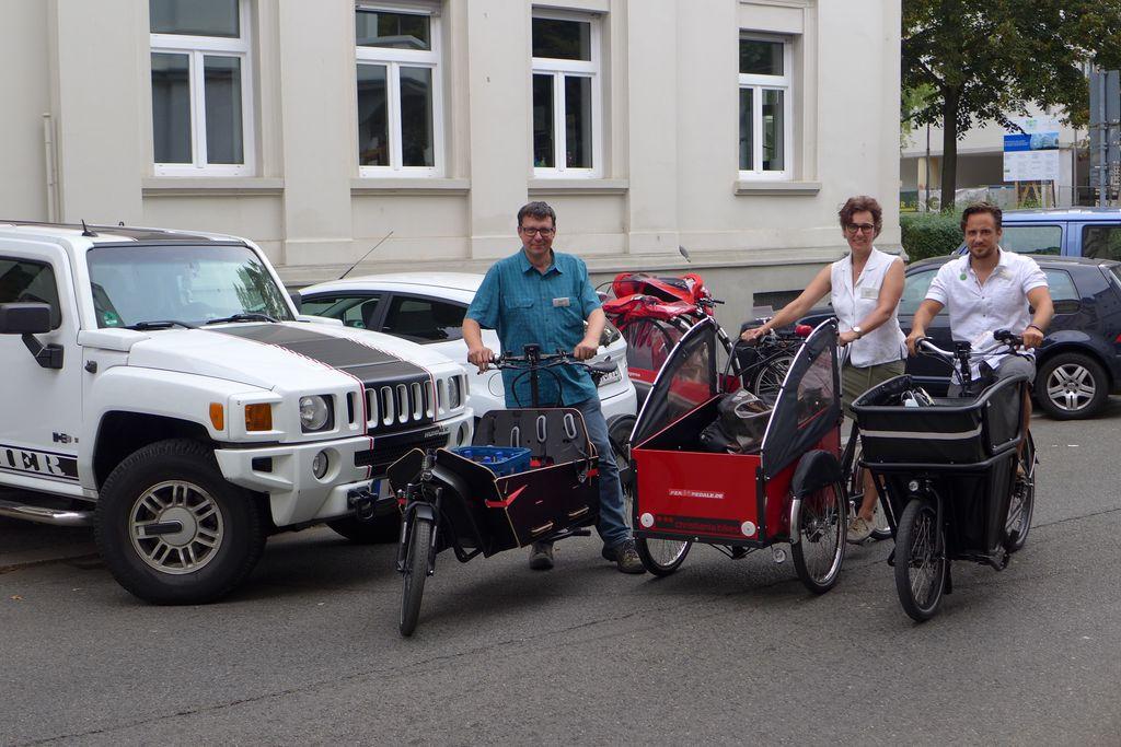 Cargobikes vs SUV