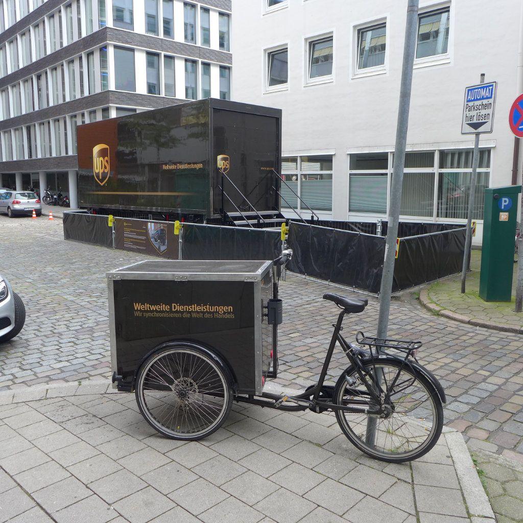 Ups Zustellung Verpasst : ups ber ideale cargobikes und infrastruktur f r die ~ Watch28wear.com Haus und Dekorationen