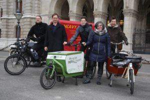 Cargobike-Kaufprämie in Wien