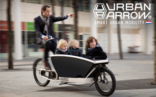 Banner Urban Arrow for Cargobike Jetzt