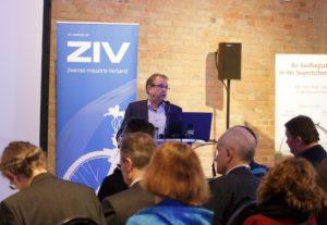 ZIV Pressekonferenz Fahrradmarkt 2016, Foto: ZIV
