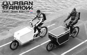 Urban Arrow Supporter-Banner auf cargobike.jetzt
