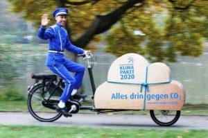 Region Hannover: Mit Cargobike-Kaufpräme LaRaLaPed für den Klimaschutz. Foto: Christian Behrens / Region Hannover
