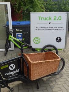 Beim Cargobike-Fachgeschäft Velogold in Hannover. Foto: cargobike.jetzt