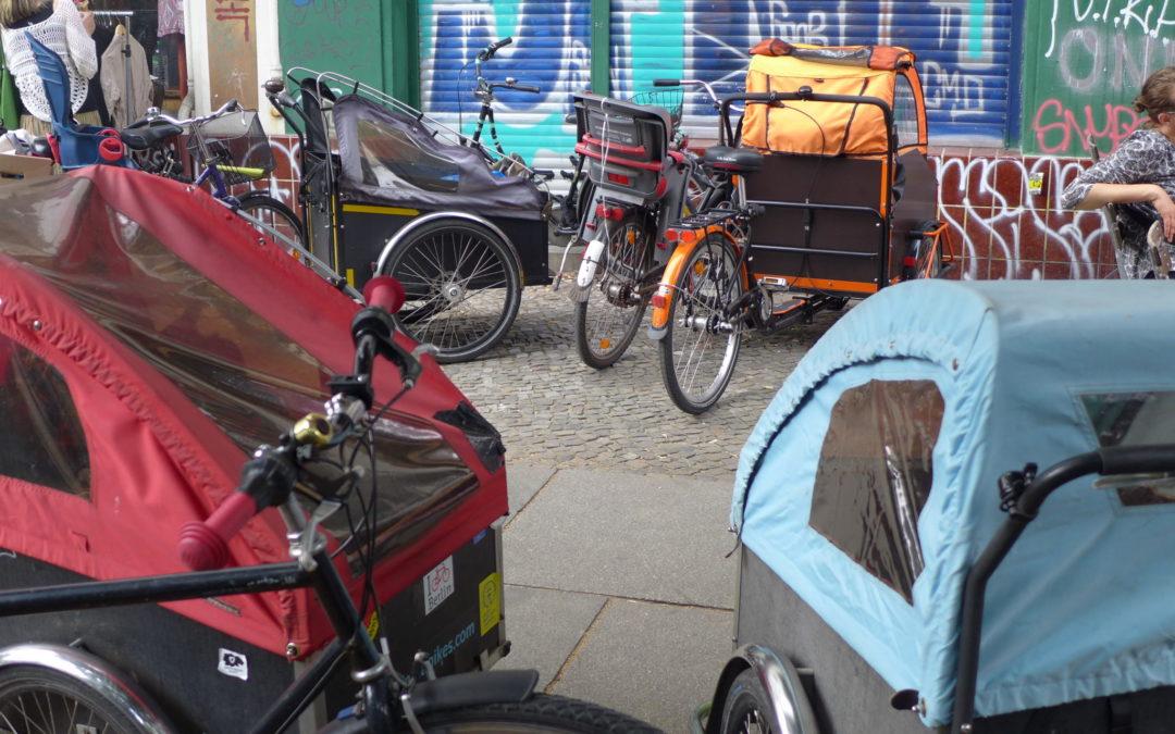 Wo bitte geht's hier zum Cargobike-Parken?