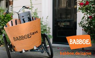 Babboe Supporter-banner auf cargobike.jetzt