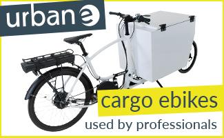 Urban-e Supporter-Banner auf cargobike.jetzt