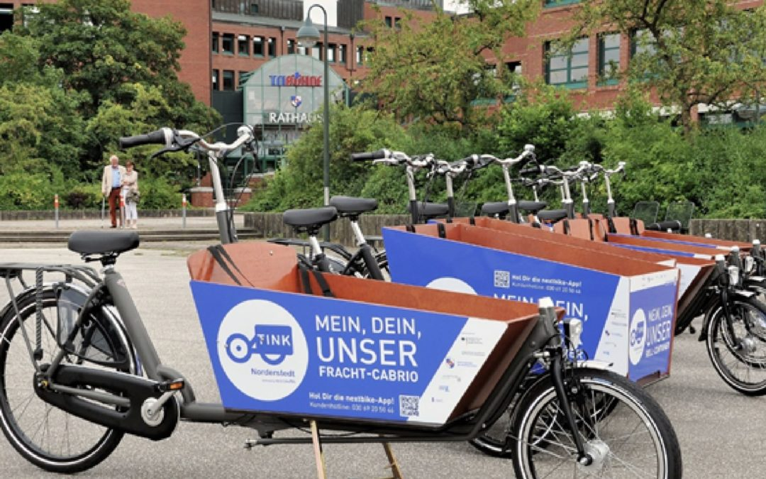Trend Cargobike Sharing – Teil I: TINK macht Schule