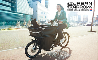 Urban Arrow Banner auf cargobike.jetzt