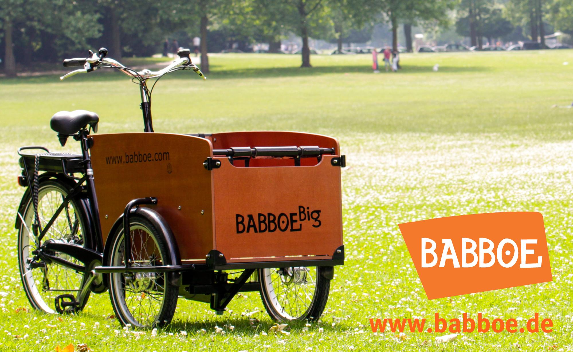 Babboe-Banner auf cargobike.jetzt