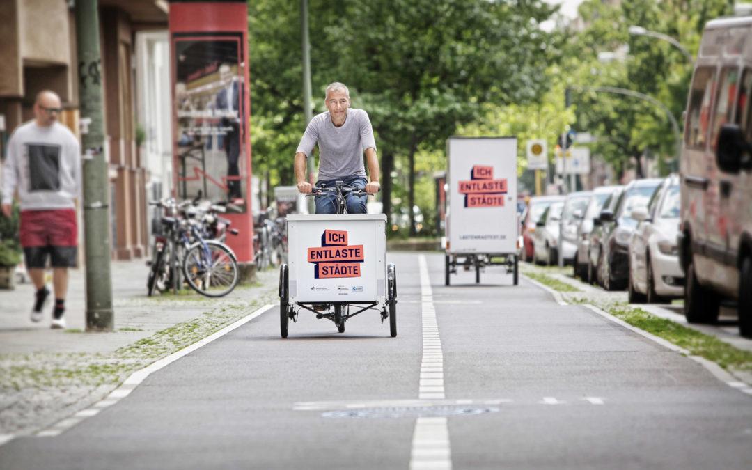 """Cargobikes testen: """"Ich entlaste Städte"""" ist gestartet"""