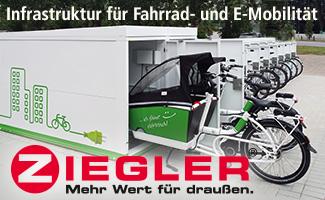 Ziegler-Banner auf cargobike.jetzt