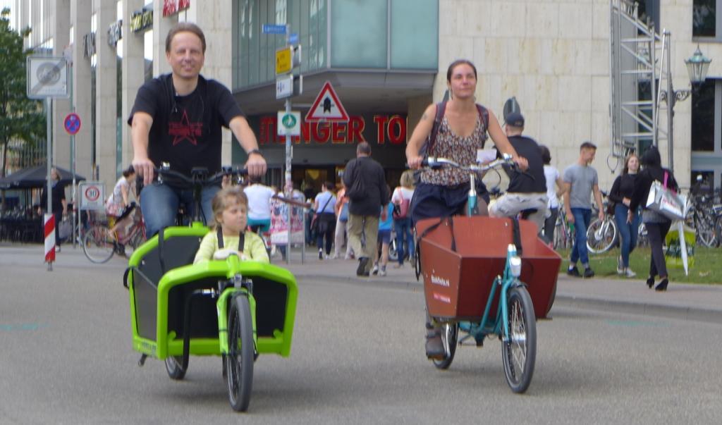 Fahrradmonitor 2017: Großes Potential für Cargobikes