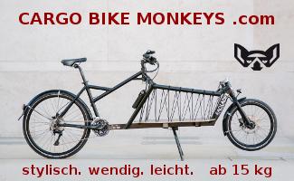 Cargo Biek Monkeys - Banner auf cargobike.jetzt