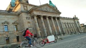 Cargobike vor Bundesverwaltungsgericht in Leipzig