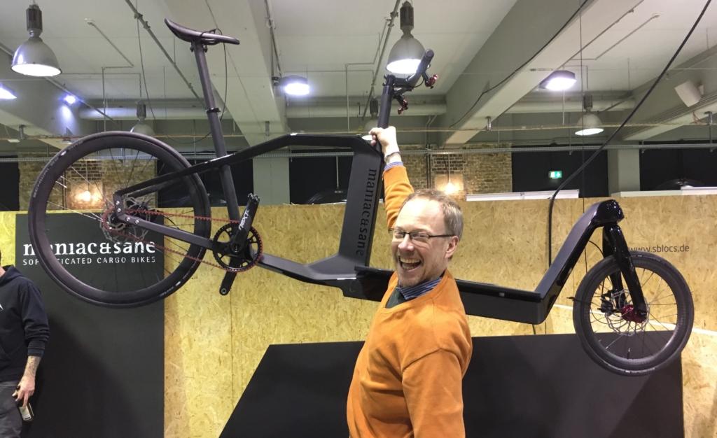 Cargobikes auf der Berliner Fahrradschau 2018