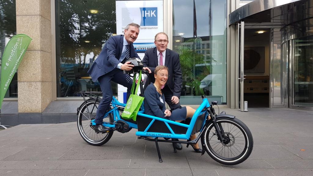 Fahrradstadt Düsseldorf? Nicht ohne Cargobikes!