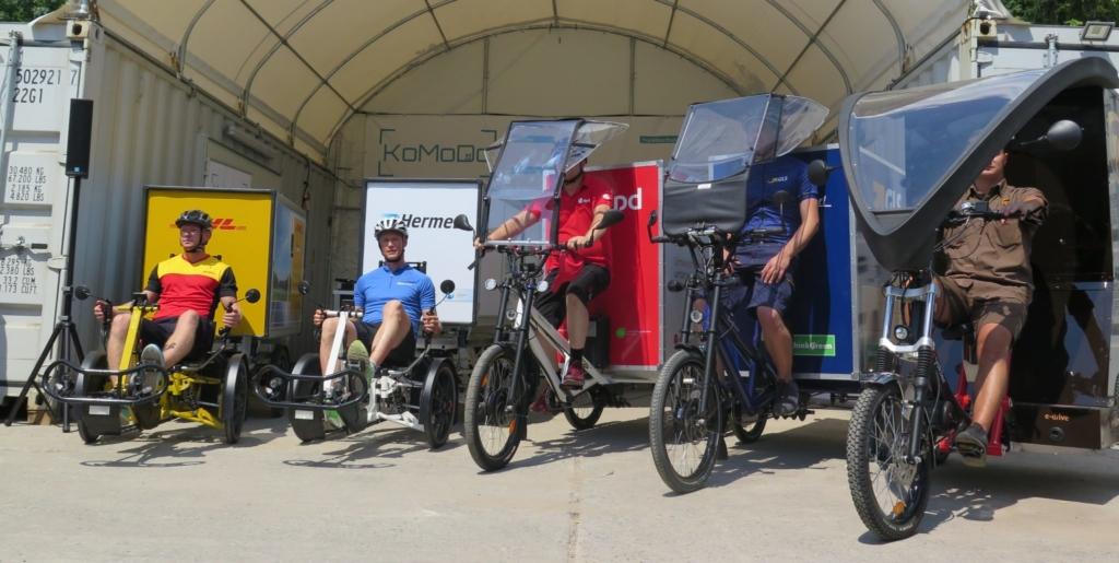 Vorhang auf für Cargobike-Projekt KoMoDo in Berlin