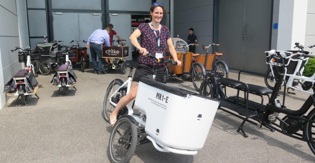 Cargobikes mit prominentem Auftritt bei EUROBIKE 2018