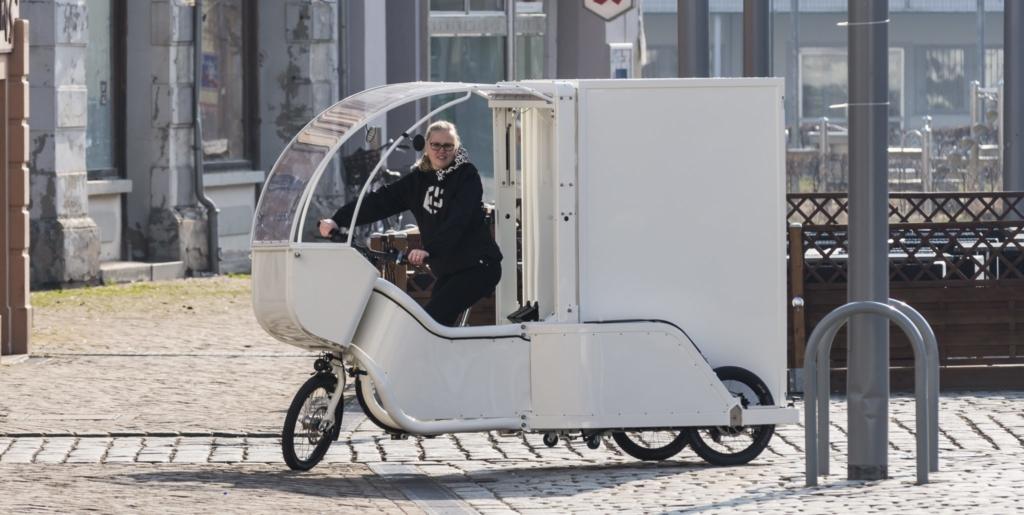Cargobikes auf der IAA Nutzfahrzeuge 2018
