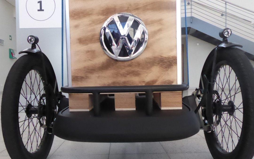 VW präsentiert Cargobike: Mehr als Greenwashing?