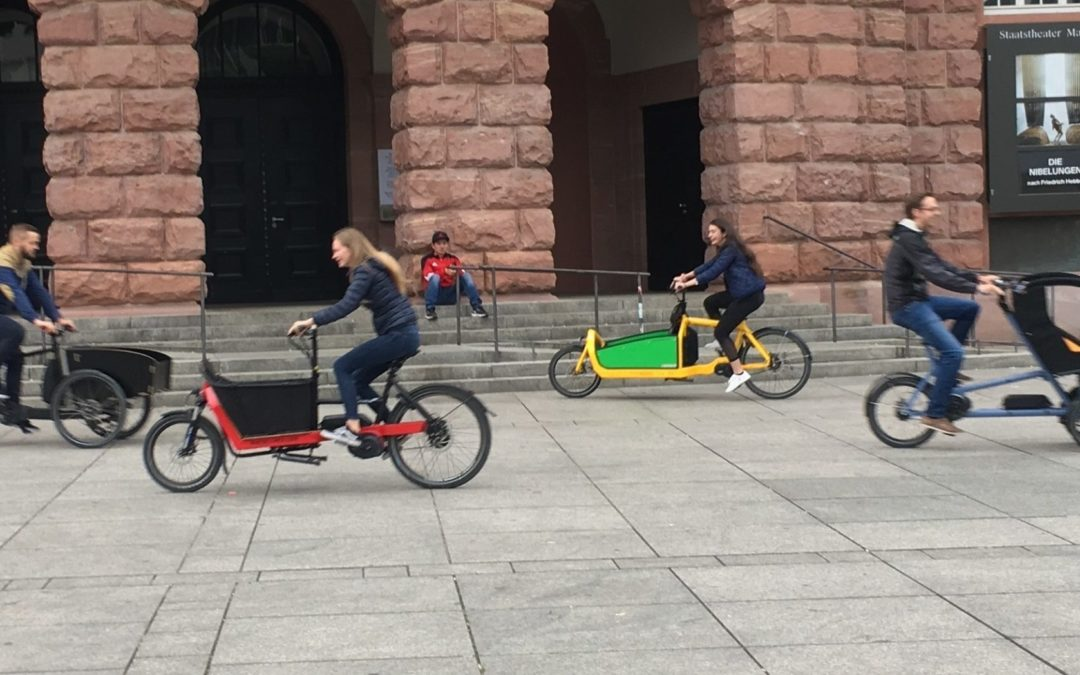 Cargobike Roadshow startet am 23. Mai in Stuttgart