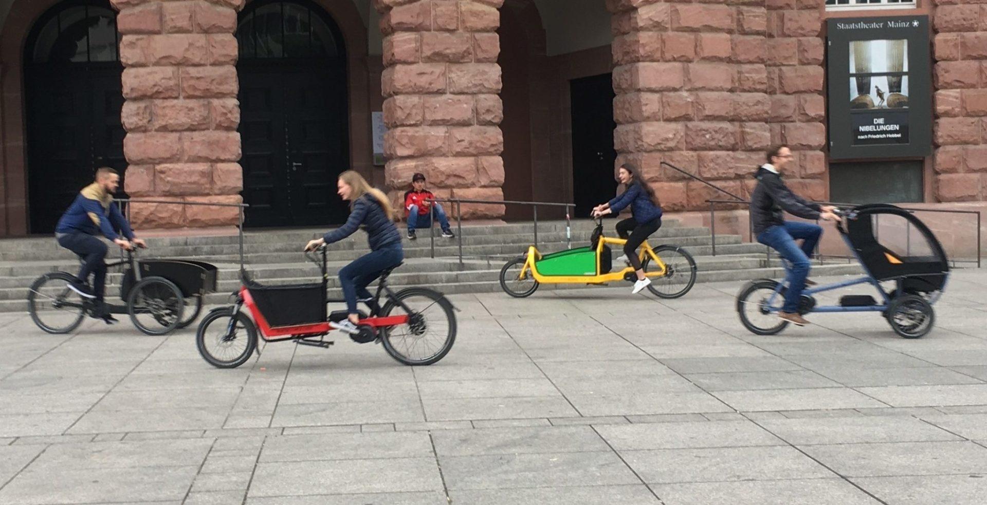 Cargobike Roadshow @ Riegerplatz