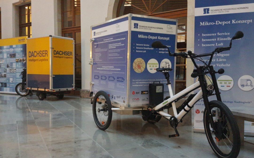 Cargobikes dominieren Bundeswettbewerb Nachhaltige Urbane Logistik
