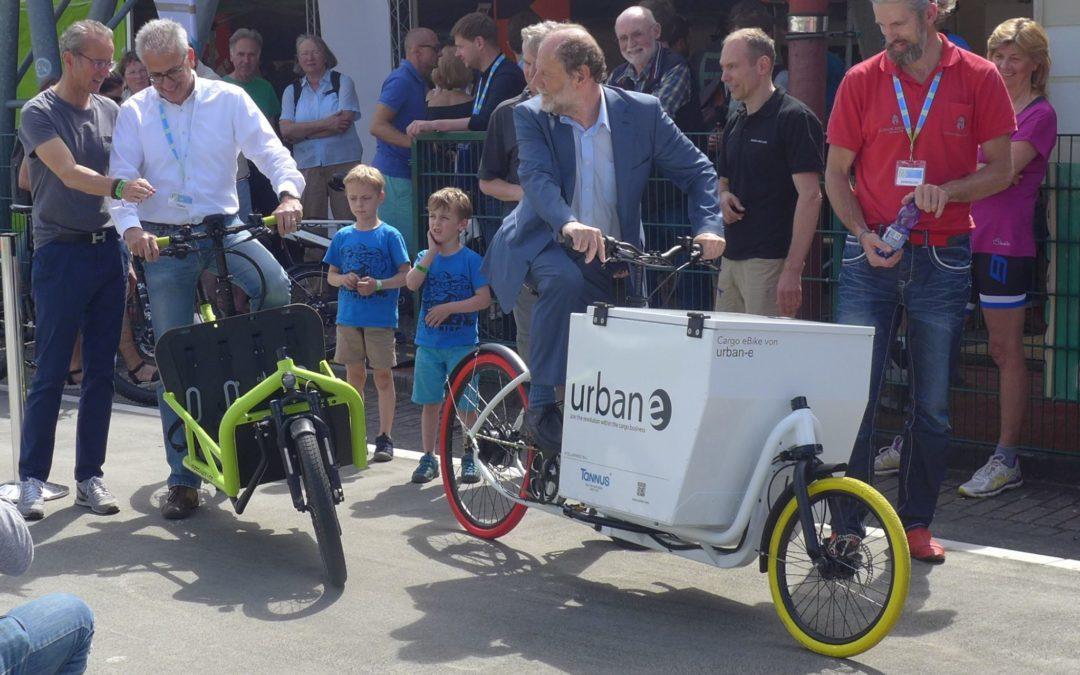 CDU und Grüne in Hessen wollen Cargobikes fördern