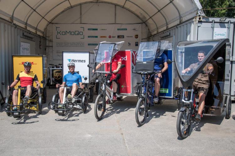 EU-Mobilitätsstrategie setzt auf Lastenräder in urbaner Logistik