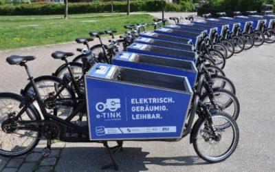 e-TINK mit 15 eCargobikes in Norderstedt gestartet