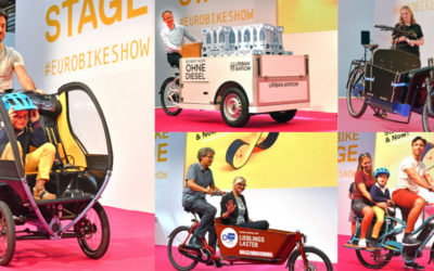 Eurobike 2019: Bühne frei für Cargobikes!