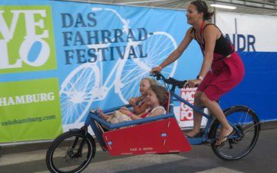 Ansturm auf Cargobike-Kaufprämien in Hamburg und Karlsruhe