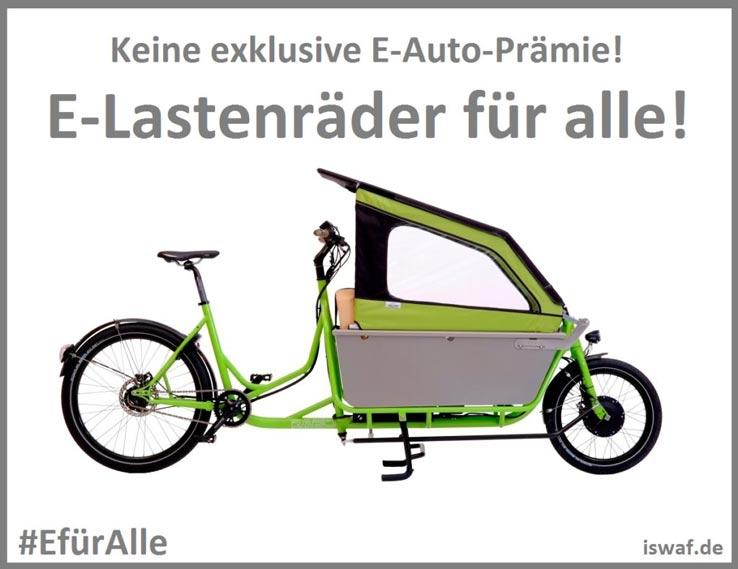 foto e-lastenräder für alle