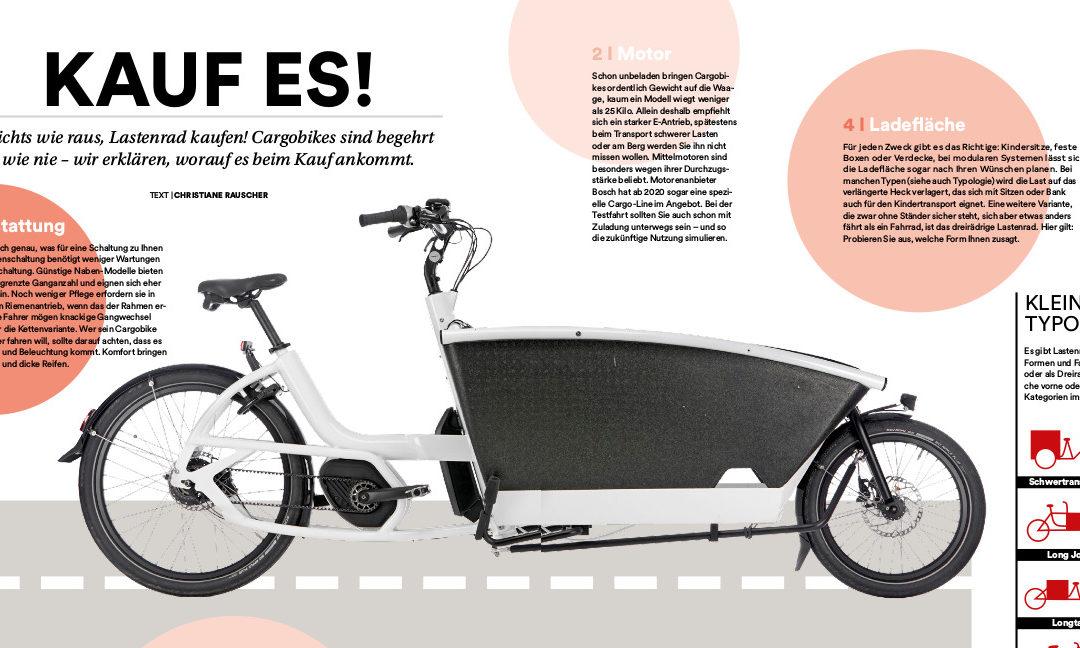 Kaufberatung: Das richtige Cargobike finden