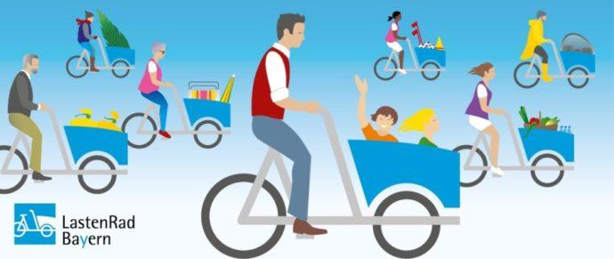 Cargobike-Sharing: Bayern fördert acht Modellkommunen