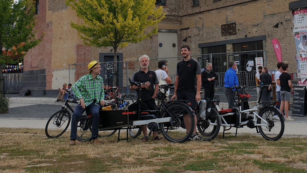 Critical Mass Wiesbaden mit Cargobikes