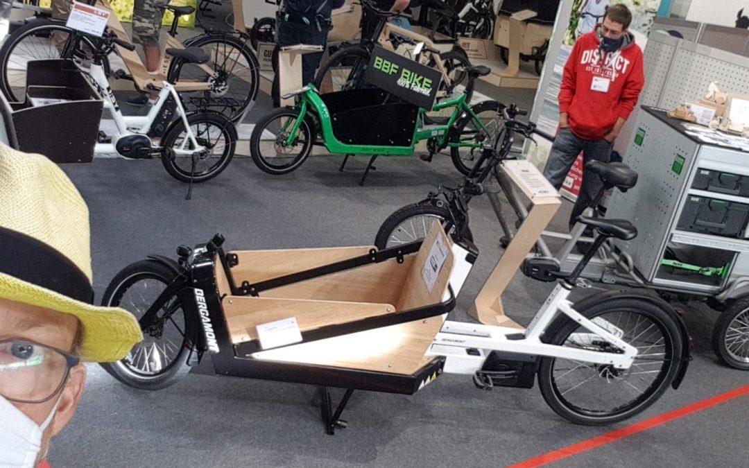 Cargobike-Neuheiten auf der BIKE&CO-Ordermesse