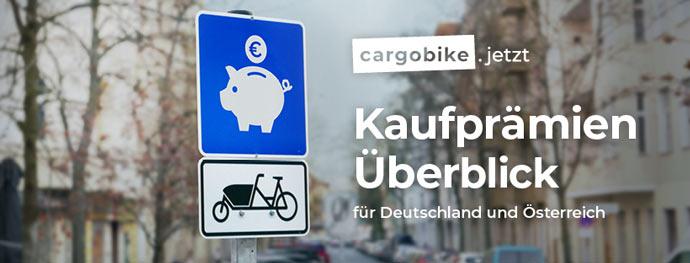 Banner Lastenrad Förderung cargobike kaufprämien