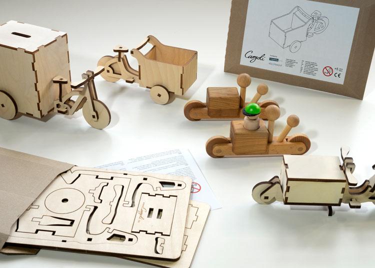 Mini-Cargobikes Cargoli