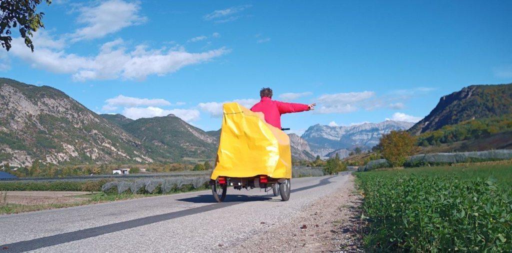 Cargobike Klavier Alpen