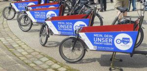 Hessen: 100 Prozent-Förderung für kommunales Cargobike Sharing