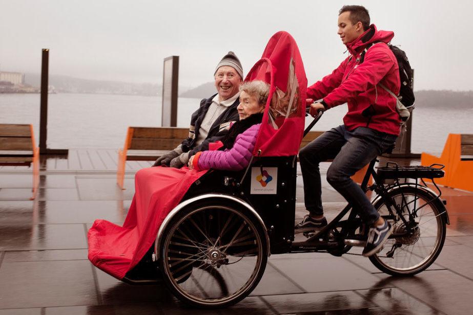 Senioren Rikscha Christiania Bikes